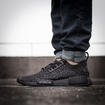 2017 Adidas Originals NMD Runner Yeezy 350 Pirate Black Mens#adidas shoes