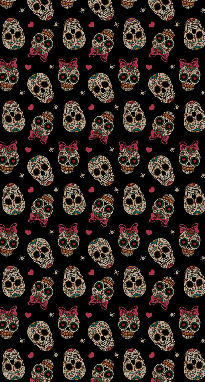 Sugar Skull Skull Wallpaper Sugar Skull Wallpaper Skull Wallpaper Iphone