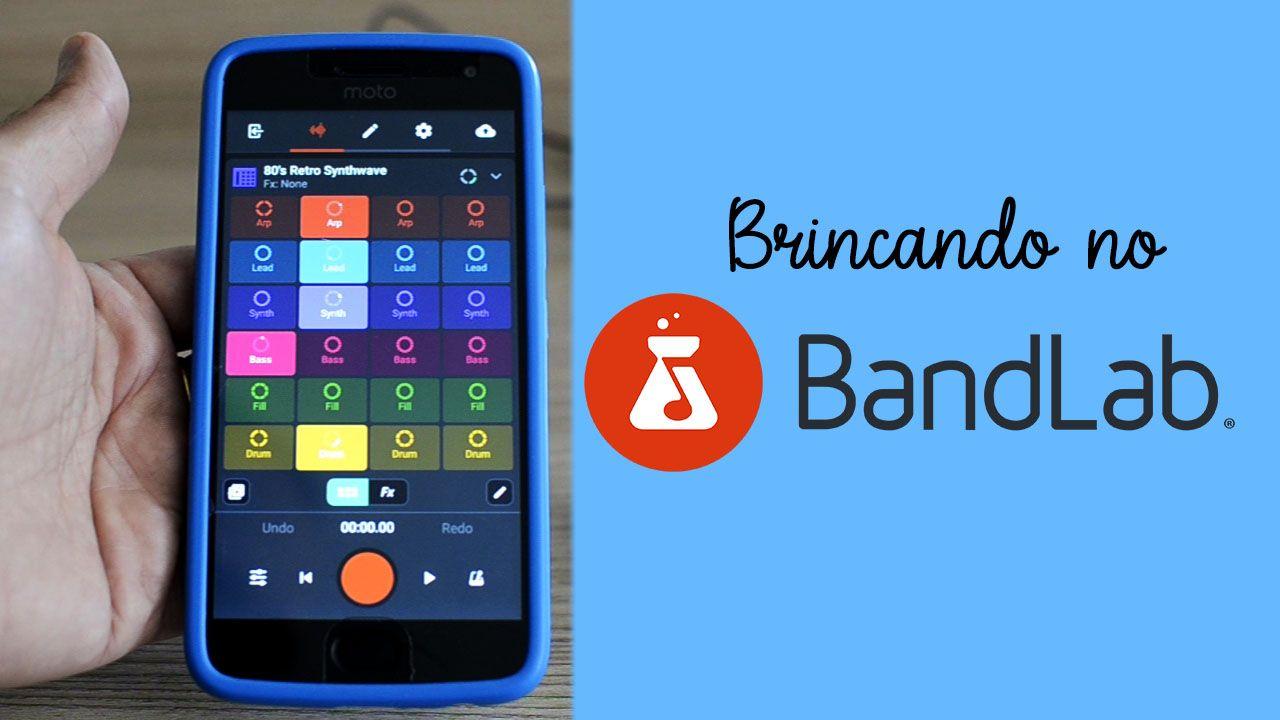 Brincando No Bandlab Um App Que E Uma Daw Para Criar E Registrar