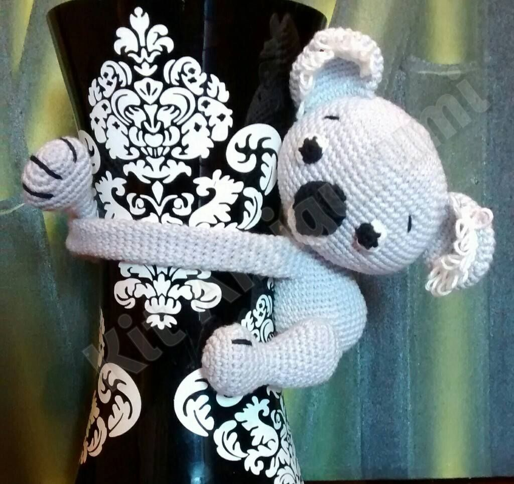 Koala abraza cortinas | Amigurumis | Pinterest