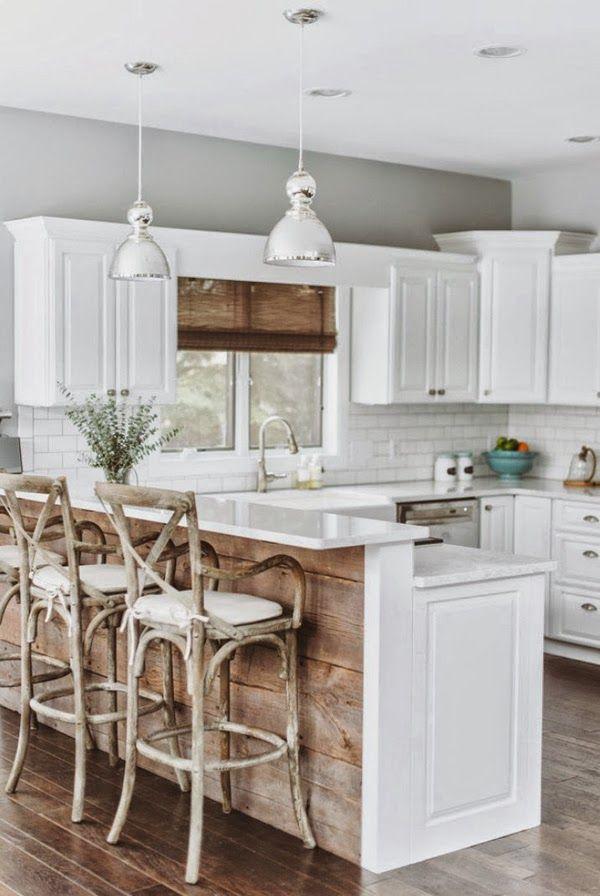 Белая кухня: 6 преимуществ + 40 вдохновляющих фото | Cocinas, Cocina ...