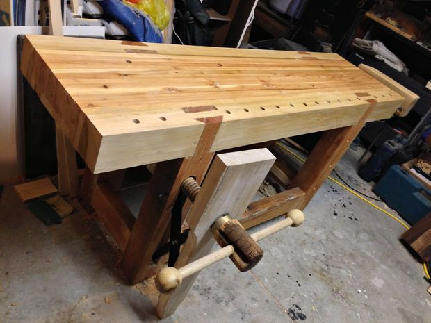 Roubo Style Workbench Woodworking Workbench Woodworking