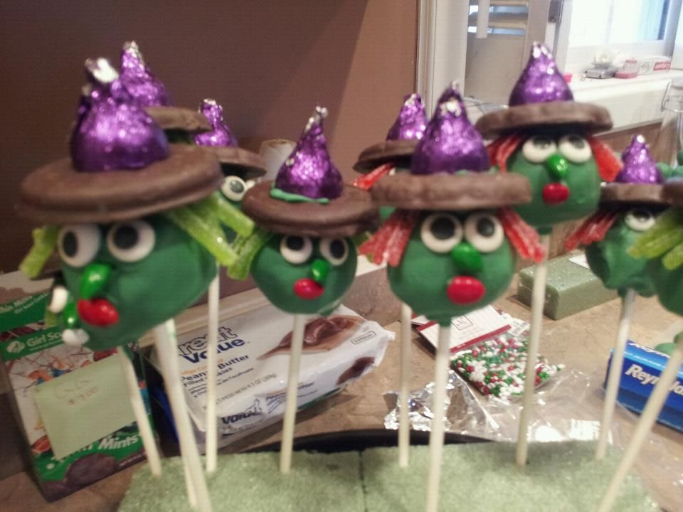 Ambers --Kids Halloween Party Witches Cake Pops! Pinterest - kids halloween party ideas