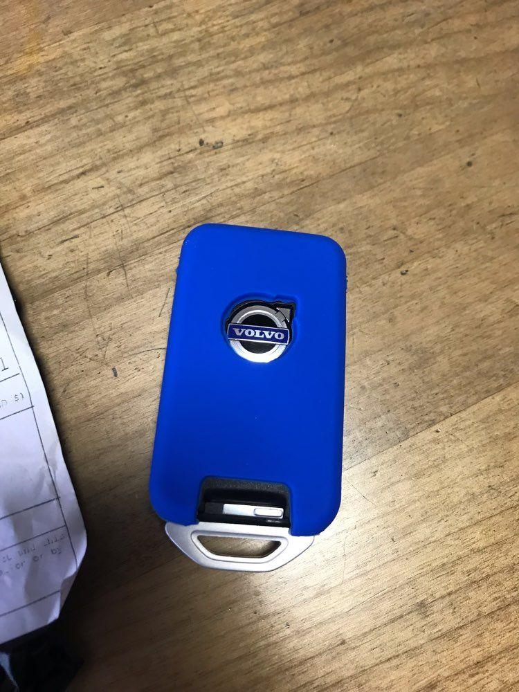 Blue Volvo Key Case Volvo Smart Key Volvo S60