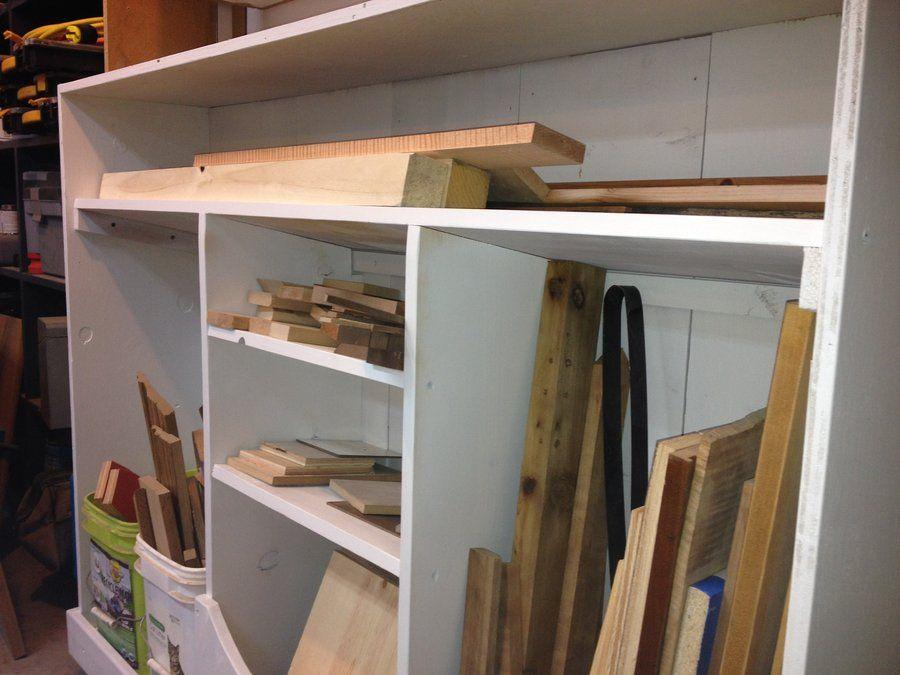 Scrap Cutoff Storage Cart - by CueballRosendaul @ LumberJocks.com ~ woodworking community