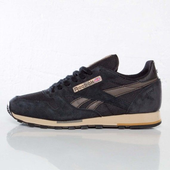 5350e2a38ba5eb Reebok Classic Leather Utility - Black   Brown