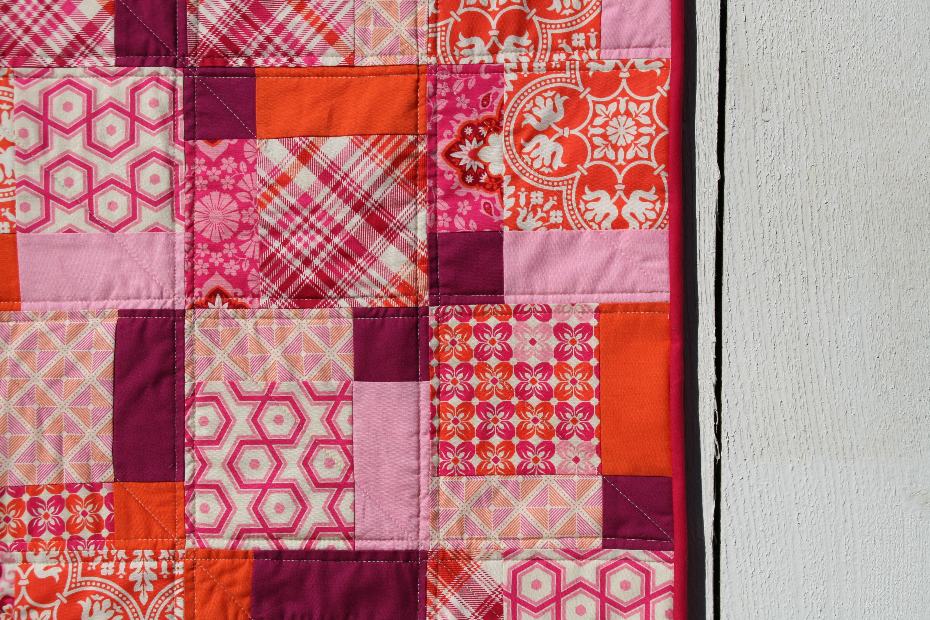 Free Craftsy Pattern Disappearing 9 Patch Quilt