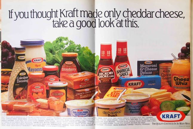 It's likely that Singaporeans first came to know Kraft for their cheese.