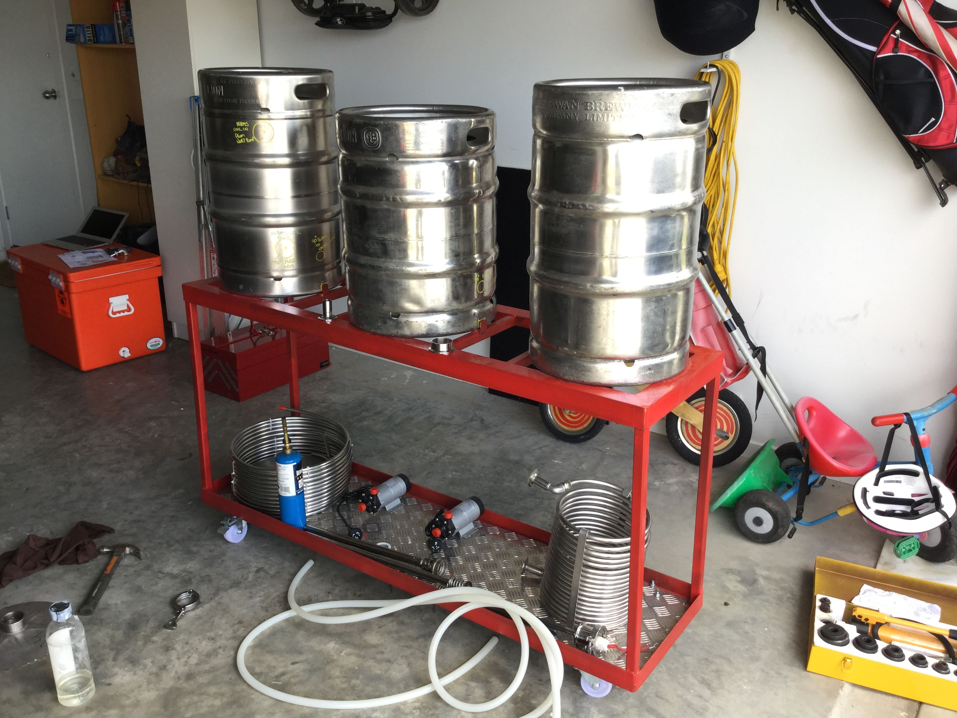 Building a HERMS brew rig