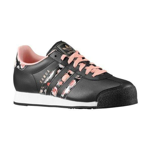 Adidas Originals Samoa Flower Print W Black/Fade Rose/White Women\u0027s Shoes