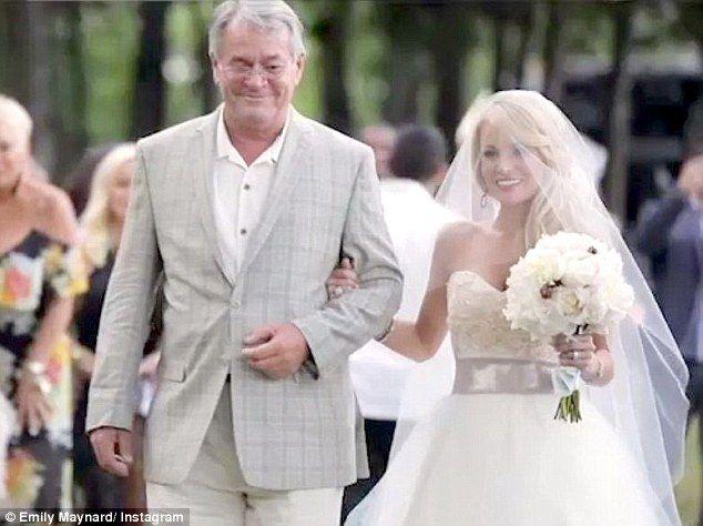 Emily Maynard Shares Glimpses Of Her Wedding Day In A Video Emily Maynard Emily Maynard Wedding Celebrity Weddings