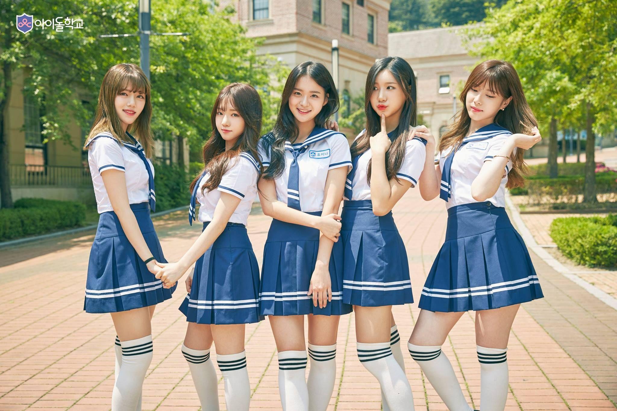 Mnet Idol School Mnet Idol School Profile Mnet Idol School Kpop Mnet Idol School Kpop Profile Mnet School Girl Outfit School Girl Japan Korean Best Friends