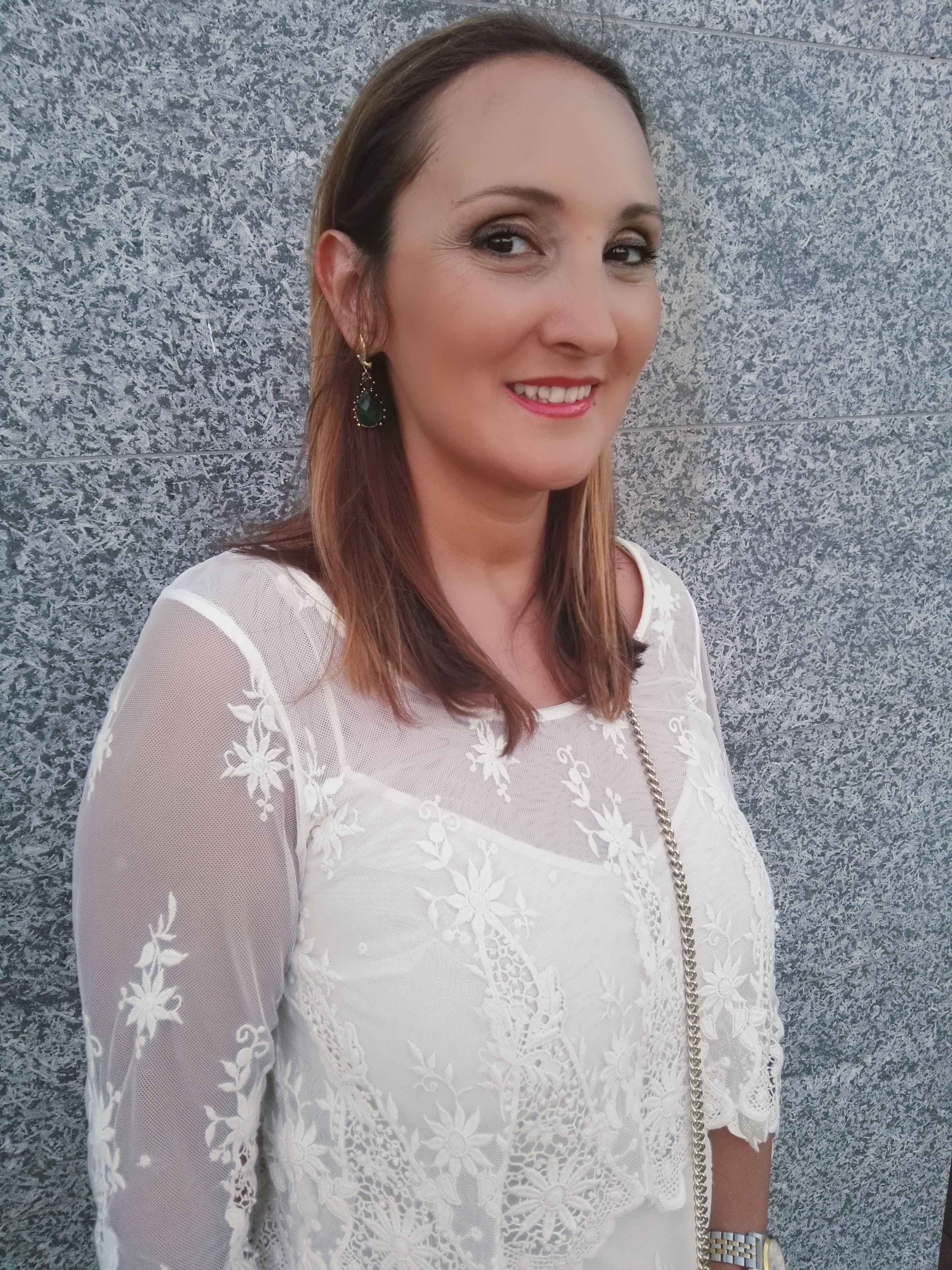 Look Lace White Dress   14 of July 2016.