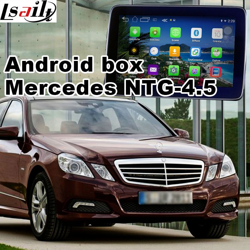 Android GPS navigation box video interface for Mercedes-benz E class