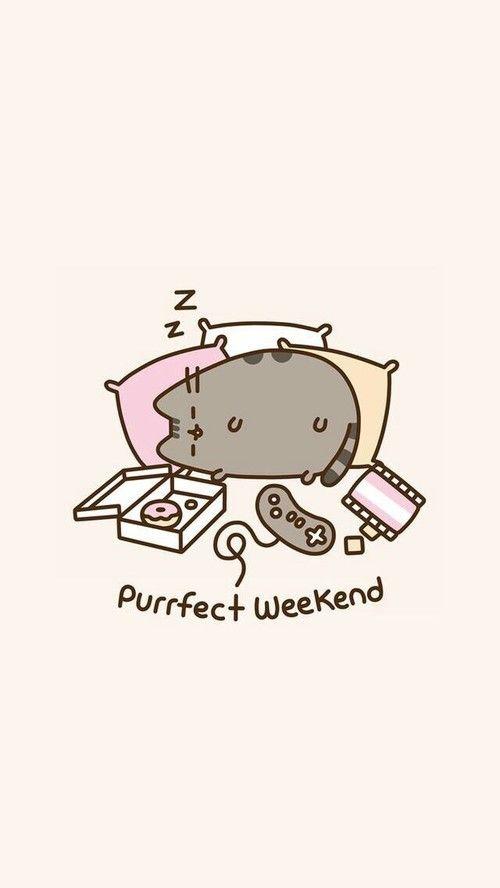 Image By 「ɴᴇᴏᴛᴏᴋɪᴏ ᴀɴɪᴍᴇ」◠ω◠✿ Wallpaper Tumblr Mesmerizing Pusheen Purrfect Weekend Throw Blanket