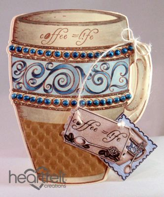 Heartfelt Creations | Coffee Mug Card