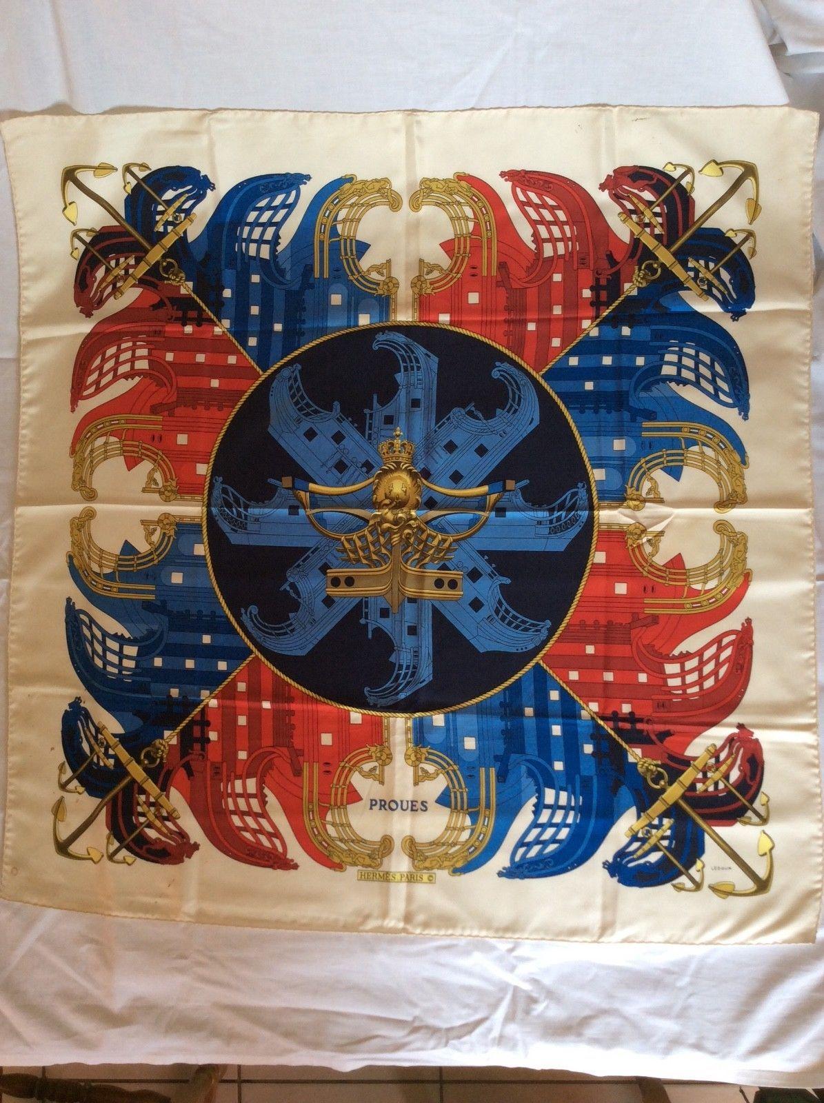 Véritable foulard carre hermes soie   eBay   Silk   Pinterest ... 5f7f33c74ed