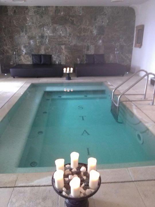 the indoor pool and spa at Villa Marina Capri. http://www.facebook.com/celebratetravelinc
