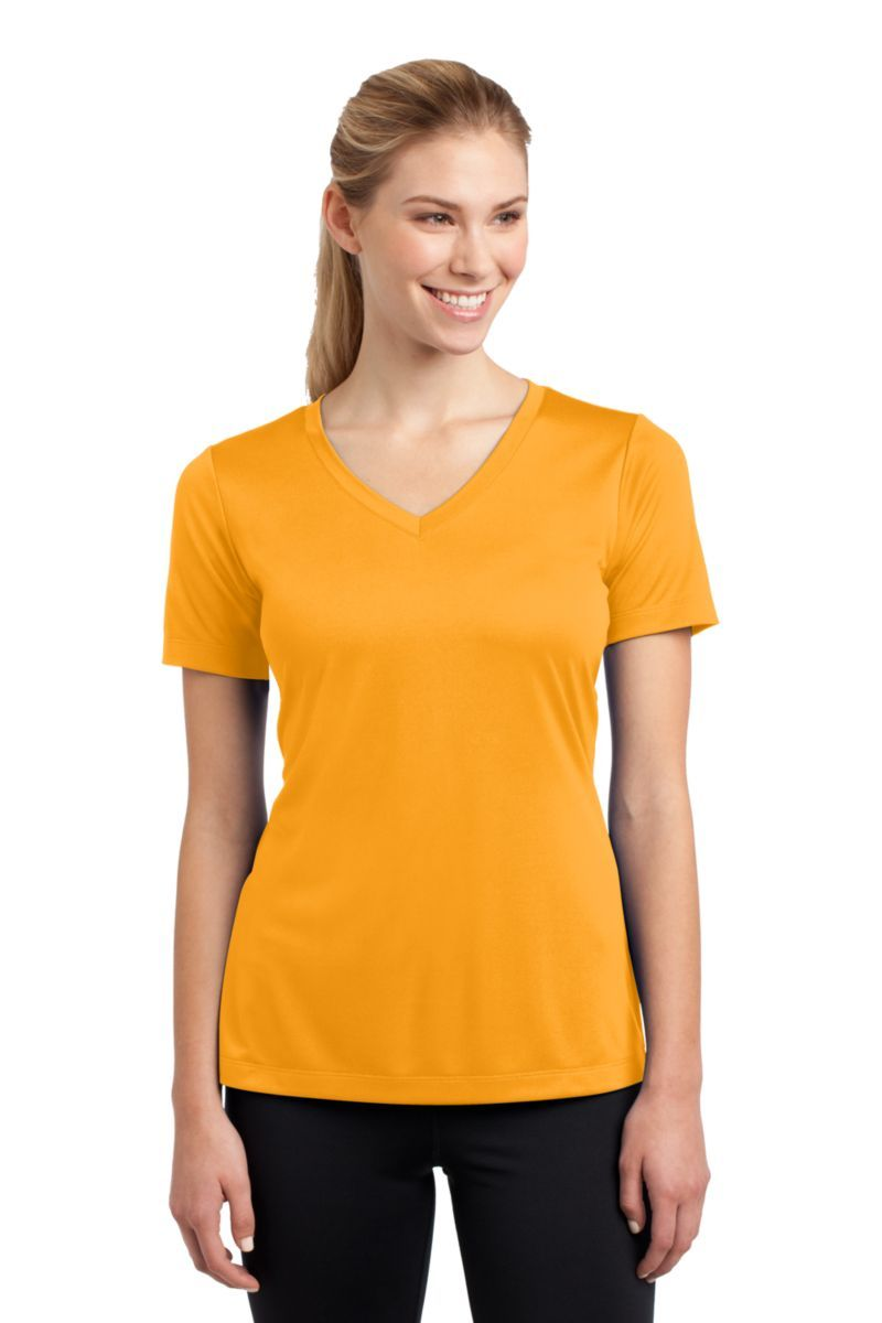 Ladies vneck competitor tee with images v neck tee women