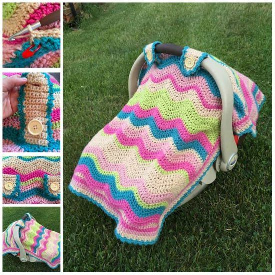 Free Baby Crochet Patterns Best Collection Seat Covers Crochet