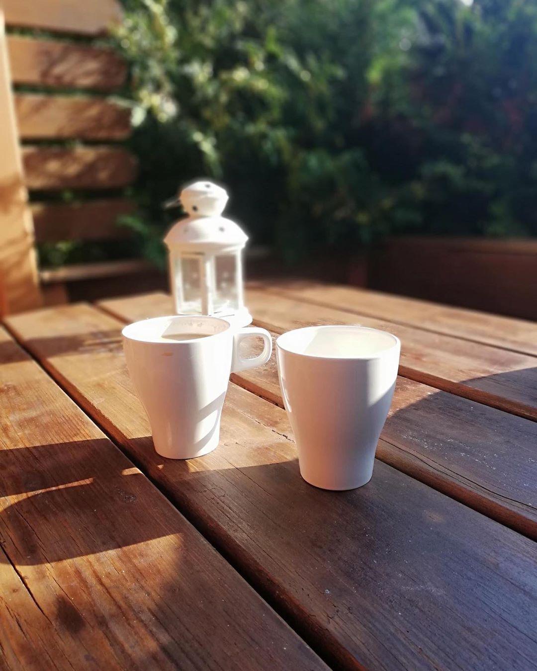 Poranna Kawka Na Tarasie Coffeetime Coffee