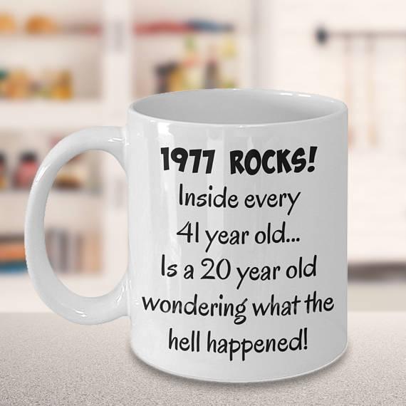 41st Birthday Mug Gift Present For Her Him B