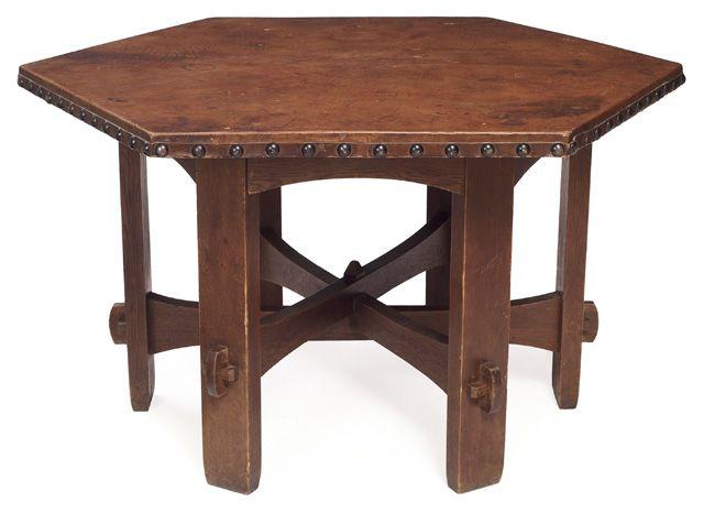 gustav stickley 1858 1942 library table model number 410 l an rh pinterest com