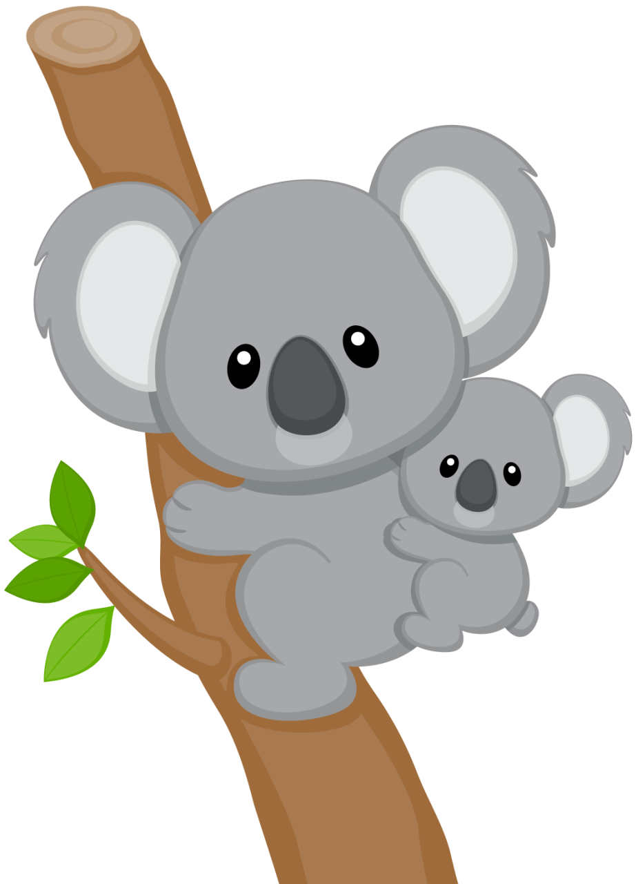 koala6 png paper piecing  clip art and bears Koala Bear Sketch koala bear clip art black and white