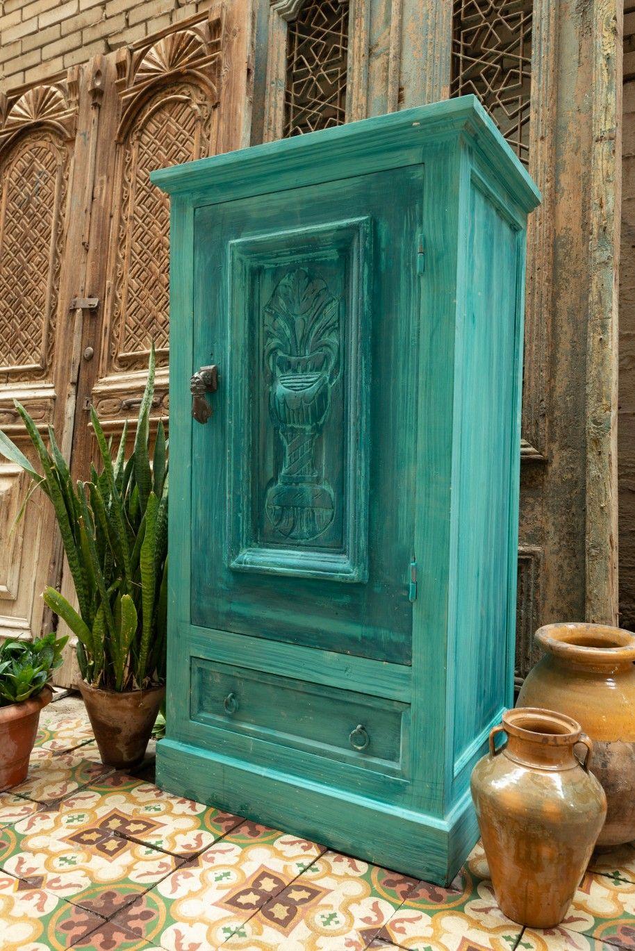 دولاب صغير باستخدام باب قديم Small Cabinet Using An Old Door Furniture Decor Home Decor