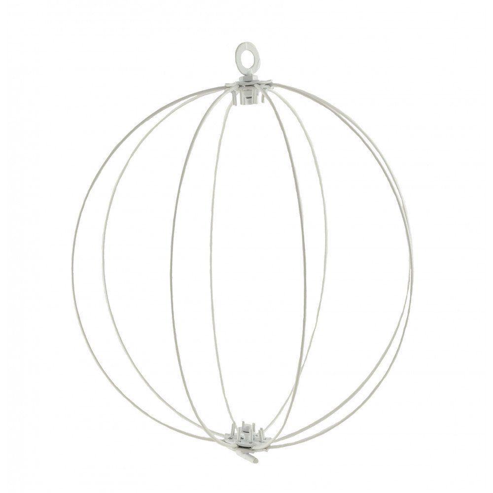 "12"" KD Wire Folding Ball: White"