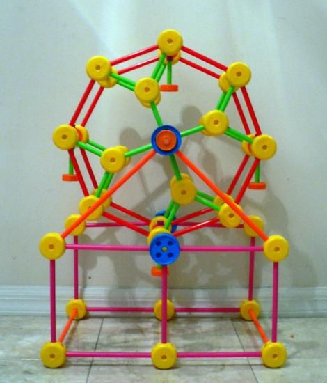 Best Tinker Toys For Kids : Tinkertoy another structure vicky loves it