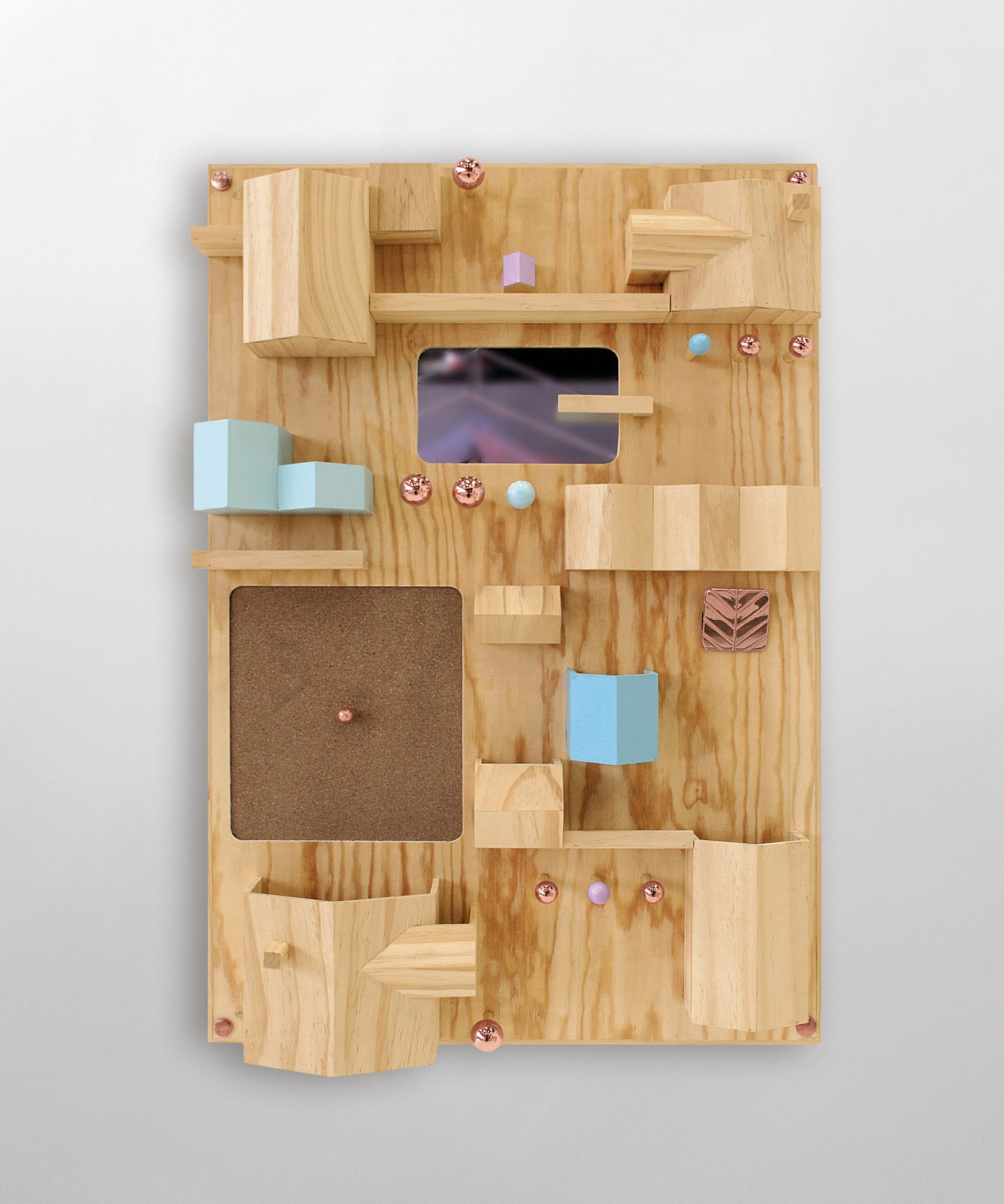 Suburbia wooden wall storage design by seletti wooden walls