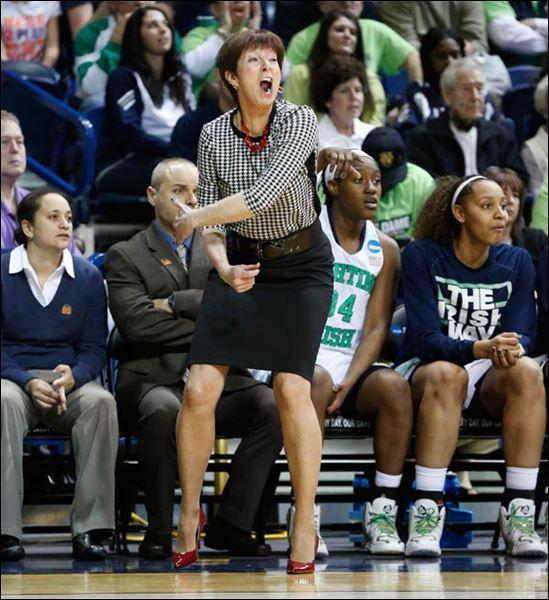 "Ann ""Muffet"" McGraw Is The Current Head Women's Basketball"