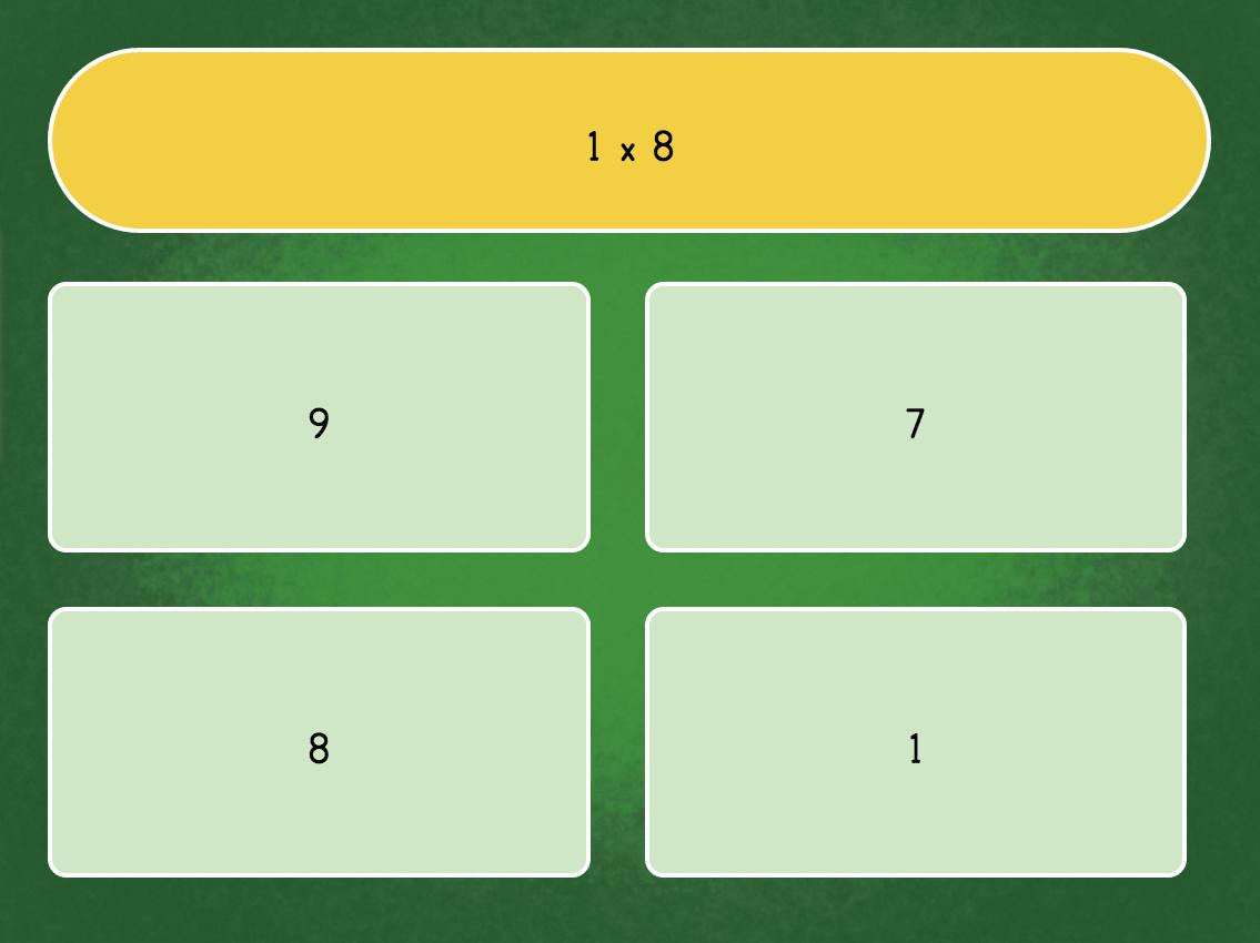 1 Minute Multiplication