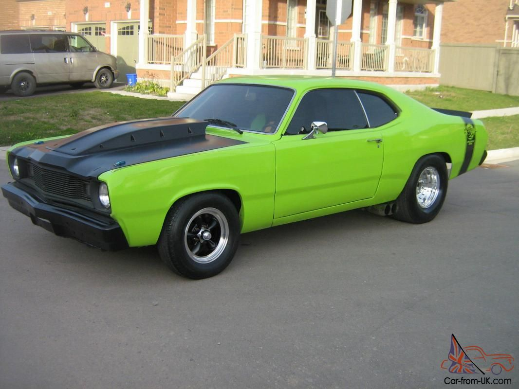Plymouth duster pro street photo