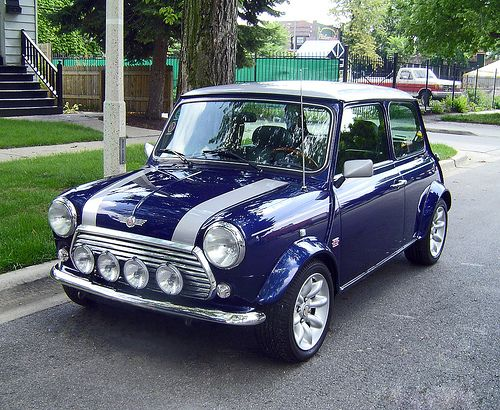 Own An Old Mini Cooper Aka A Car With Its Own Personality