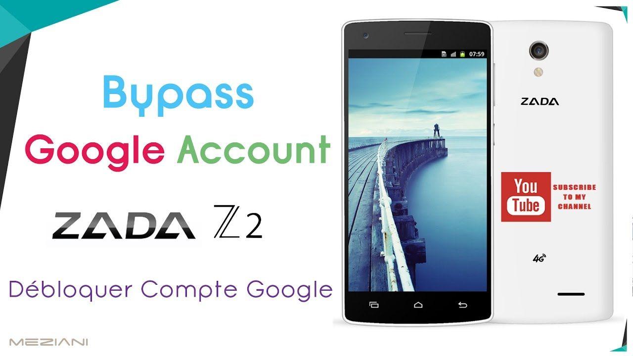 Bypass Google Account ZADA Z2 Remove FRP | bypass google account