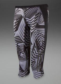 adidas Womens Supernova GR 3/4 Tights - Womens Running Clothing - Tech Grey-