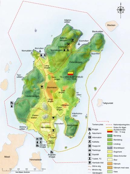 Angso National Park Stockholm County Nationalparker Swedish