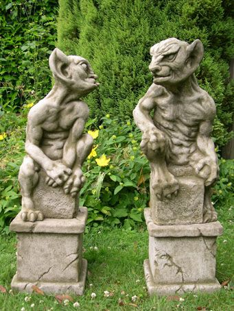 Gargoyles In The Garden Gargoyles Gothic Gargoyles Statue