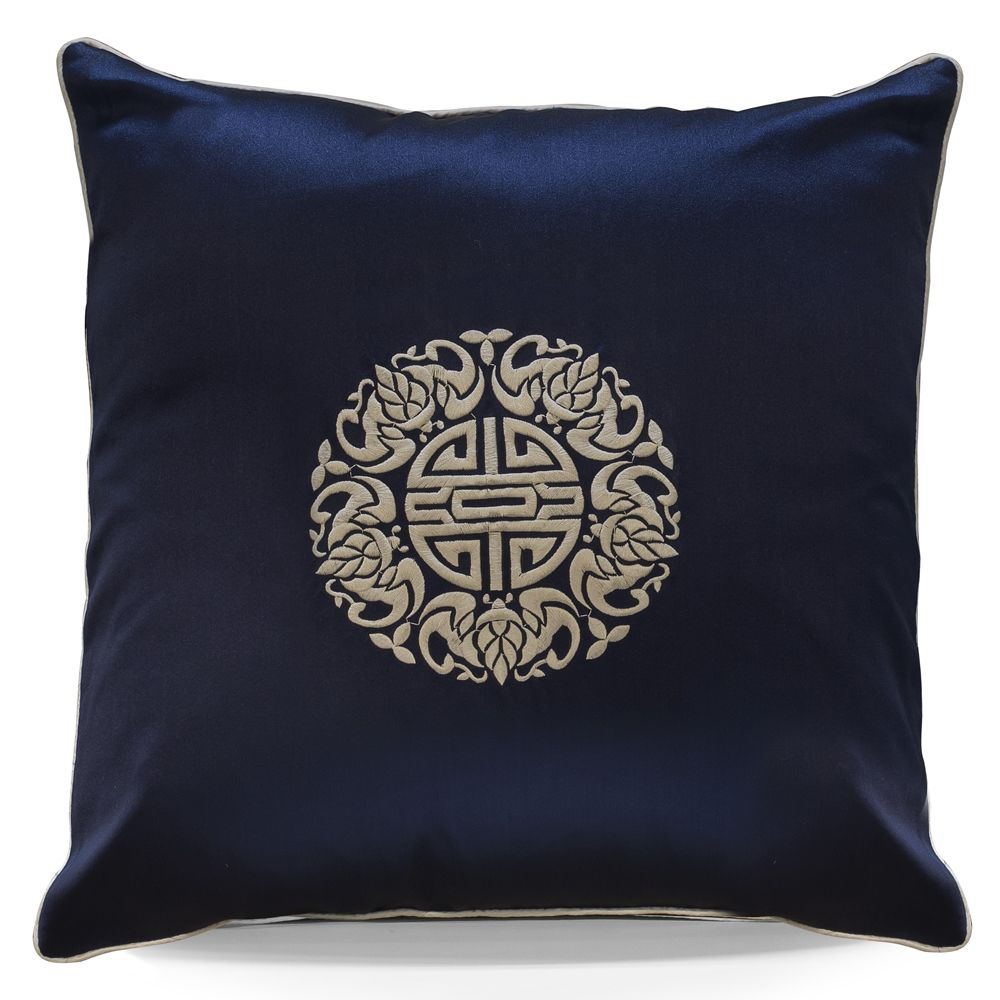 Lotus Flower and Silk Pillow from