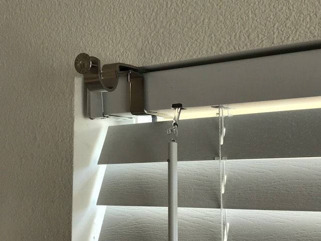 curtains with blinds curtain rod brackets