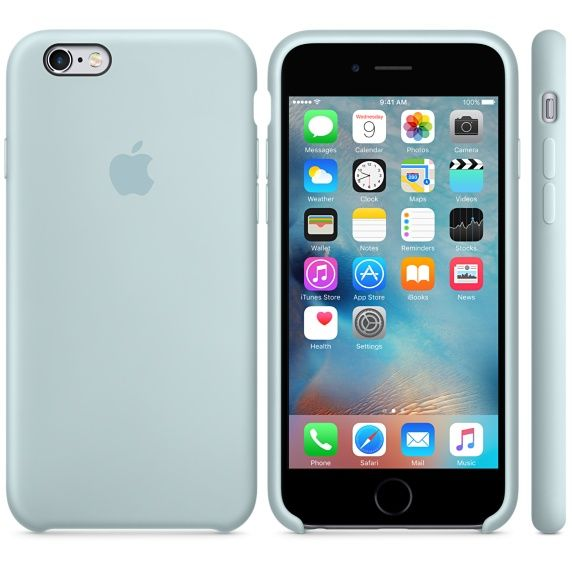 coque en silicone pour iphone 6/6s - gris anthracite