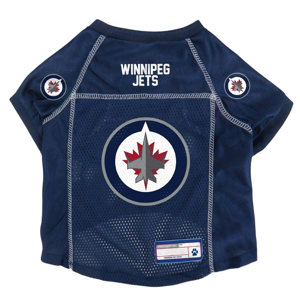 best service e9070 9bb79 NHL Winnipeg Jets Pet Jersey - S Color: Multicolored ...