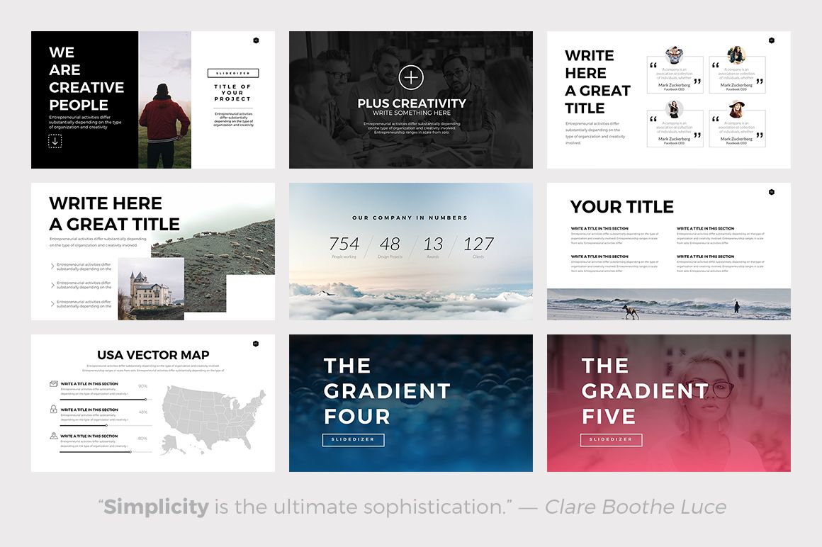 Phoenix minimal powerpoint template by slidedizer on creative phoenix minimal powerpoint template by slidedizer on creative market toneelgroepblik Gallery