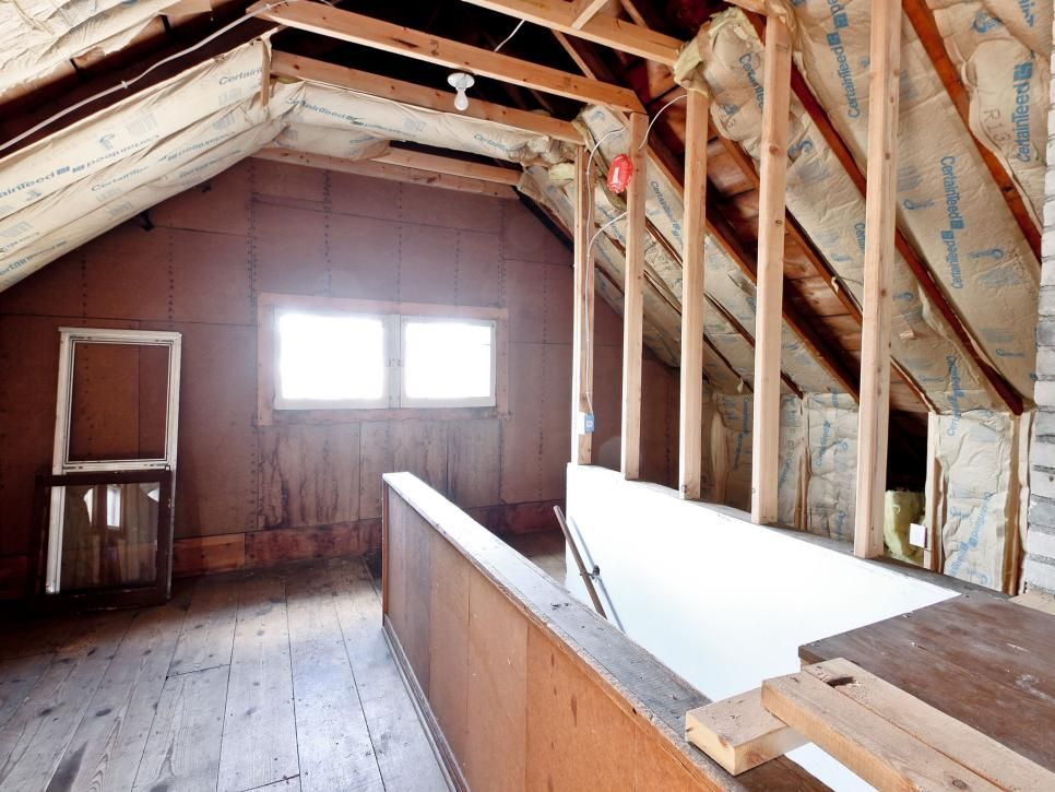 Em Rehab Addict Em Host Nicole Curtis Is Giving A Crumbling Turn Of The Century Bungalow A Second Chance To Be T 1920s House Bungalow Homes Attic Renovation