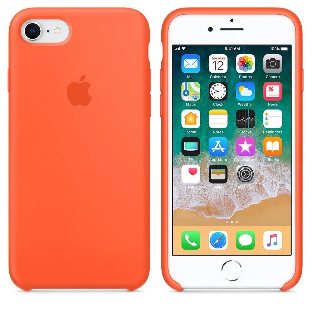 Funda Iphone 7/8 Plus Apple Original Silicone Case Colores - Don