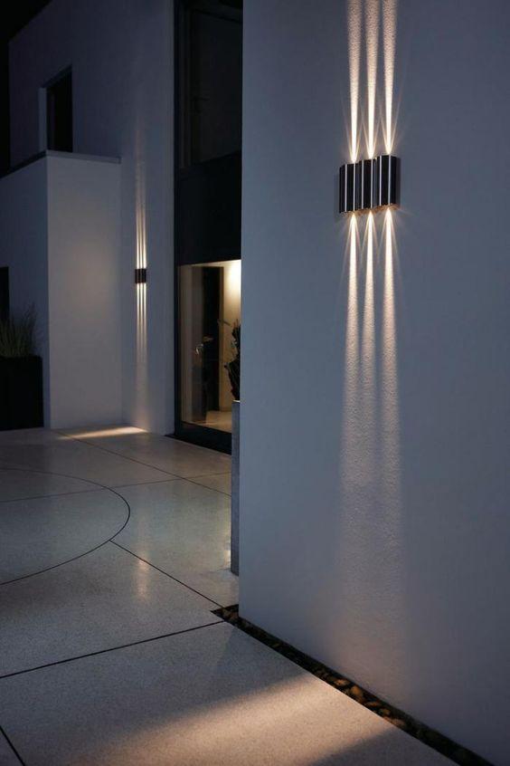 30 id es de d coration pour styliser le sol de votre maison for our home clairage ext rieur. Black Bedroom Furniture Sets. Home Design Ideas