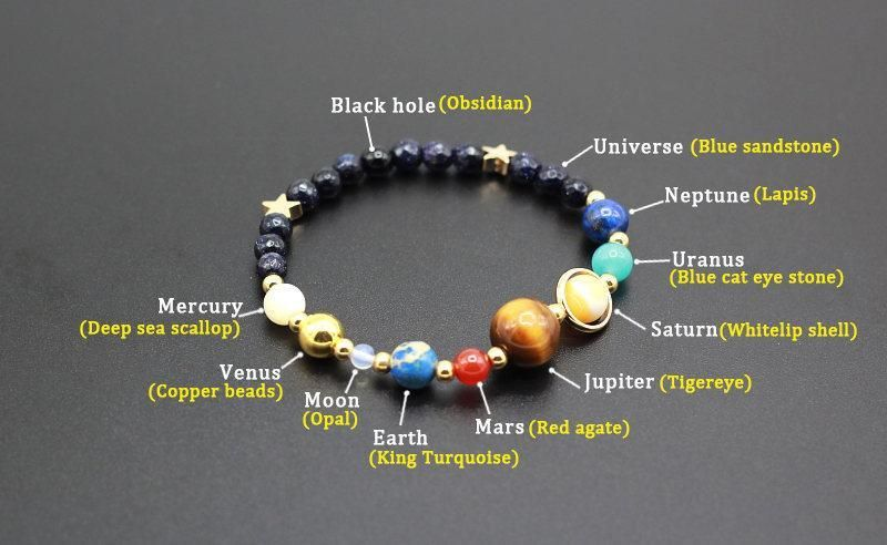 Solar System Bracelet Solar System Bracelet Bracelets With Meaning Beaded Bracelets