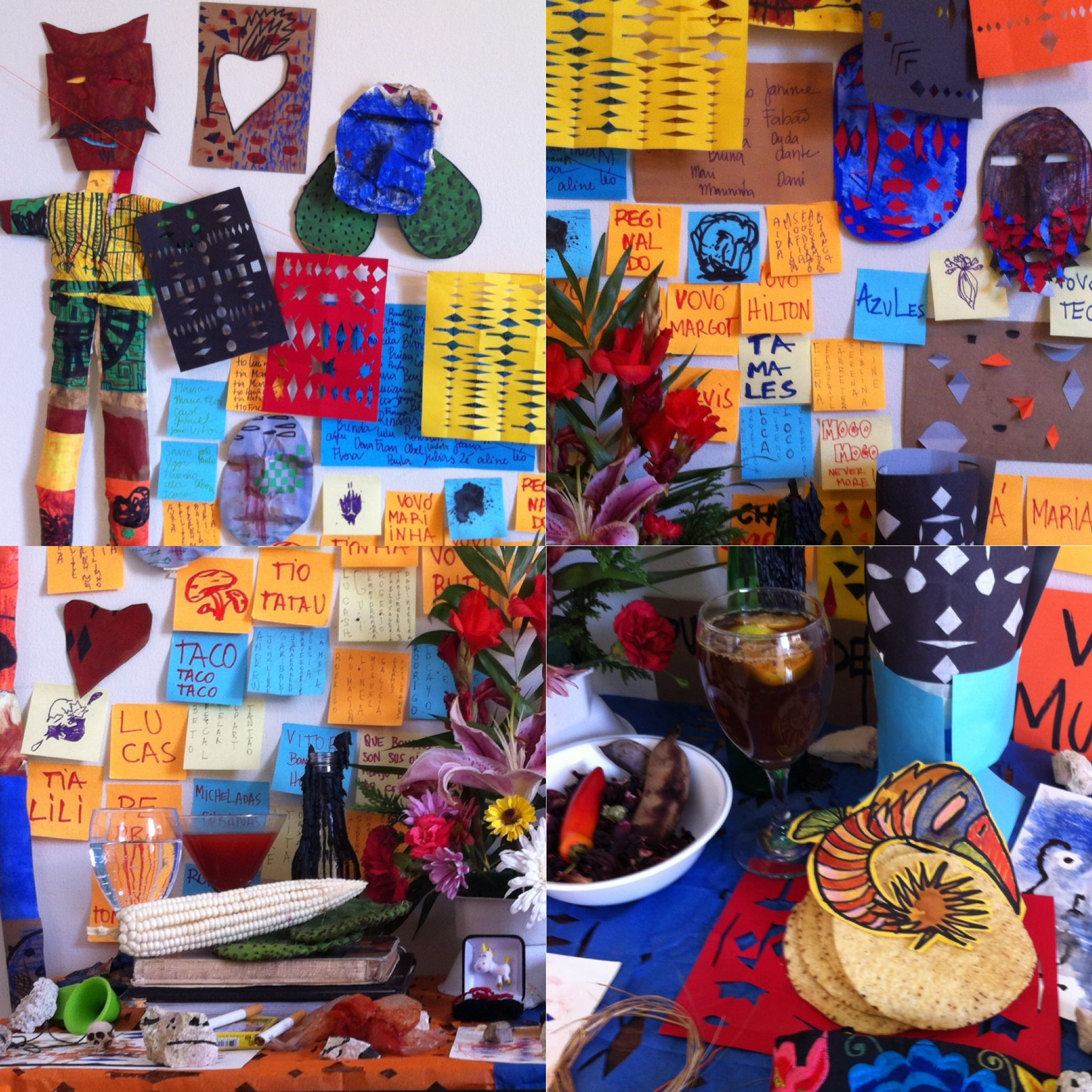 Altar de Muertos y Boda_Mexico_Nov2015